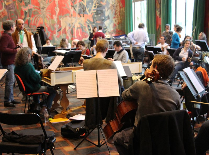 Training and professional insertion © Le Concert Spirituel